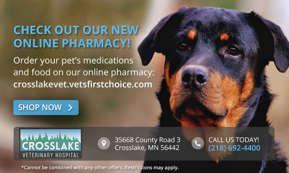 Cross lake vet pharmacy special